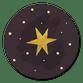 Gouden ster bordeaux