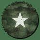 Stern Militarylook grün
