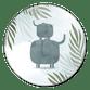 Olifant broertje jungle met waterverf