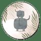Olifant zusje jungle met waterverf