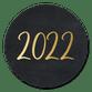 2022 - goud op zwart