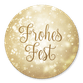 Frohes Fest gold