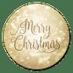 Merry Christmas Glitzer M