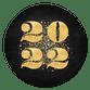 Gouden 2022 met spetters zwart
