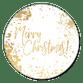 Gouden structuur en Merry Christmas