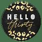 Hello Thirty Panterprint