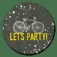 Fiets en Let's Party