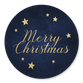 Merry Christmas Sterne nachtblau