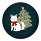 Puppy met Kerstboom