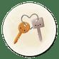Schlüsselbund mit Herz