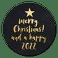 Kerstboom in letters 2022
