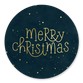 Merry Christmas gold und Sterne T