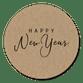 Happy New Year kraft