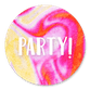 Party - Marmer roze