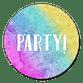 Party - regenboog
