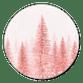 Sluitzegel kerstbomen roze nieuw