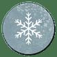 Sluitzegel sneeuwvlokje