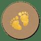 Gouden voetjes kraft