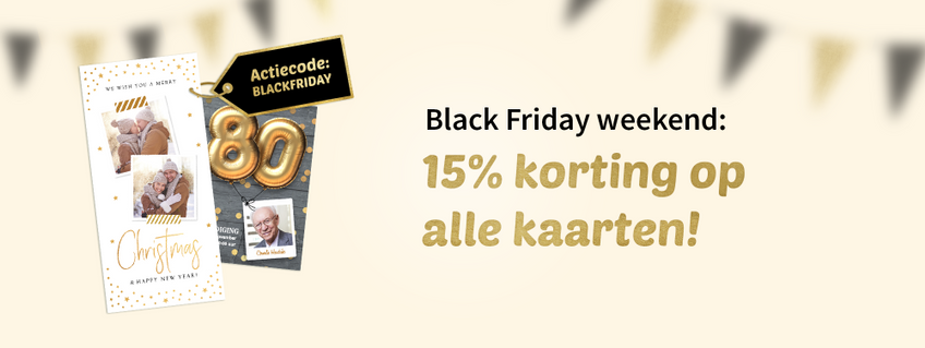black friday weekend | kaartje2go