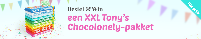 Win een Tony's Chocolonely pakket