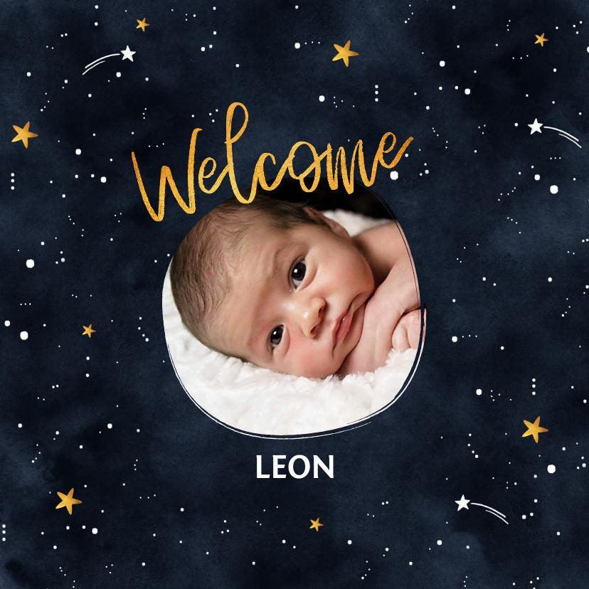 Vorname Leon als Geburtskarte