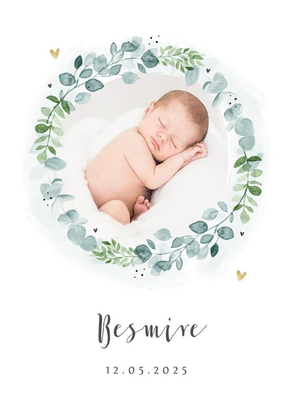 Vorname Besmire als Geburtskarte