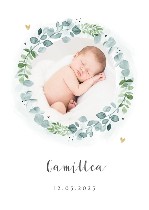 Vorname Camillea als Geburtskarte