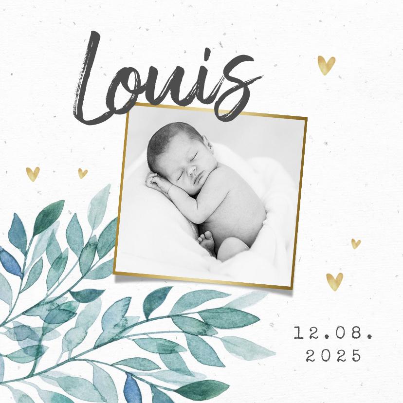 Vorname Louis als Geburtskarte