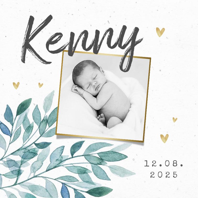 Vorname Kenny als Geburtskarte