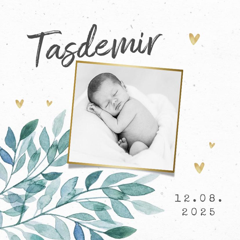 Vorname Tasdemir als Geburtskarte
